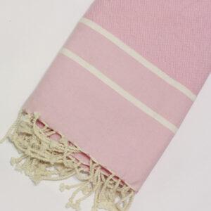 0033-fouta-cotone-telo-mare-chevron-spigato-rosa