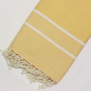 0035-fouta-cotone-telo-mare-chevron-spigato-giallo