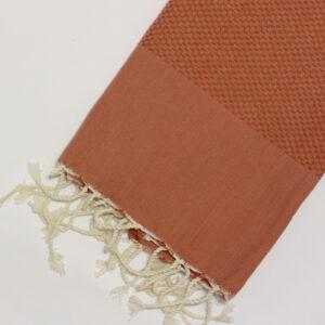1007-fouta-cotone-telo-mare-nido-d-ape-tinta-unita-arancione