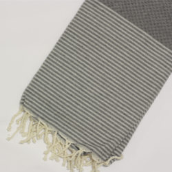 1018-fouta-cotone-telo-mare-nido-d-ape-riga-bianca-grigio-scuro