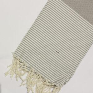 1020-fouta-cotone-telo-mare-nido-d-ape-riga-bianca-tortora-chiaro