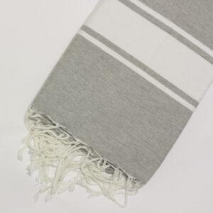 1029-fouta-cotone-telo-mare-chiaro-riga-bianca-classico-grigio-chiaro