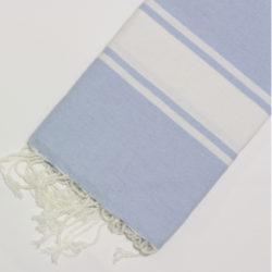 1031-fouta-cotone-telo-mare-azzurro-chiaro-riga-bianca-classico
