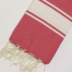 1032-fouta-cotone-telo-mare-riga-bianca-classico-rosso
