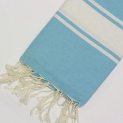 1033-fouta-cotone-telo-mare-turchese-riga-bianca-classico