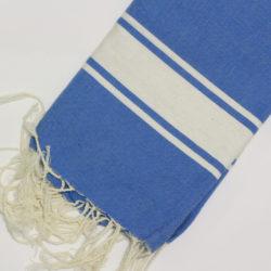 1042-fouta-cotone-telo-mare-azzurro-riga-bianca-classico