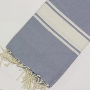 1043-fouta-cotone-telo-mare-azzurro-grigio-chiaro-riga-bianca-classico