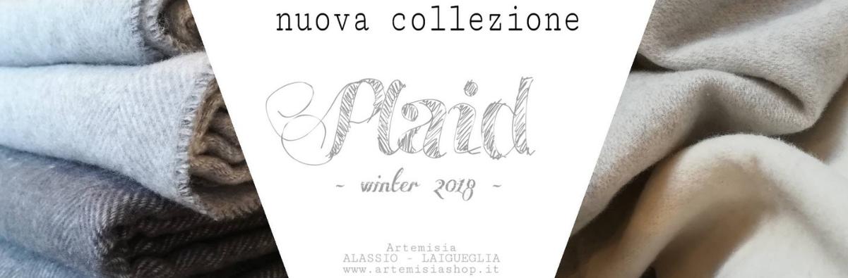 Plaid regalo di Natale nuova collezione inverno 2018