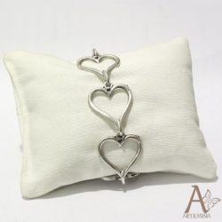bracciale-cuori-intrecciati-zama-metallo-argento