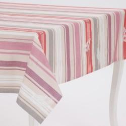 tovaglia-cotone-antimacchia-rigata-rosa-beige