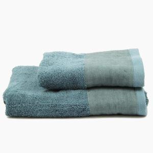 set-asciugamani-viso-aspite-spugna-lino-biancoperla-azzurro-blu-petrolio