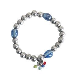 bracciale-pietre-azzurro-metallo