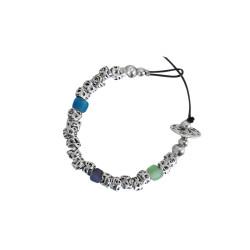 bracciale-pietre-multicolor-metallo