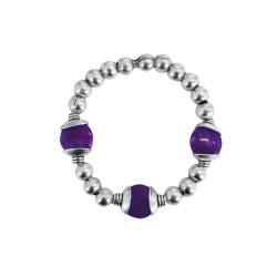bracciale-pietre-viola-metallo
