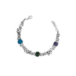 bracciale-tre-pietre-multicolor-metallo