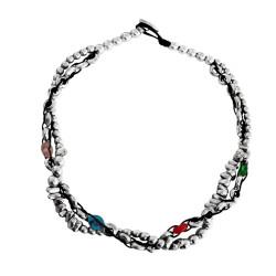 collana-pietre-multicolor-metallo-caucciu