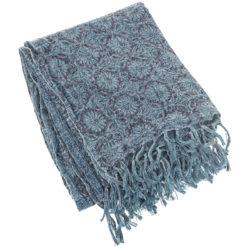 coperta-blu-fiori-lino