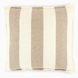 cuscino-cotone-righe-panna-bianco-tortora-beige-40x40