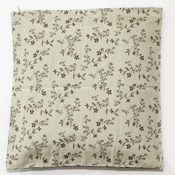 cuscino-fiori-tortora-beige-40x40