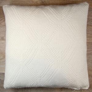 cuscino-lana-bianco-traforato-40x40