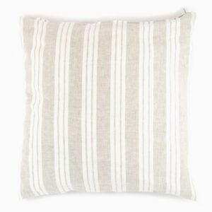 cuscino-lino-righe-panna-bianco-beige-tortora-40x40