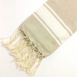 fouta-classica-telo-mare-cotone-beige