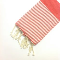 fouta-nido-ape-telo-mare-cotone-corallo