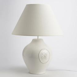 lamapa-ceramica-bianca-monogramma