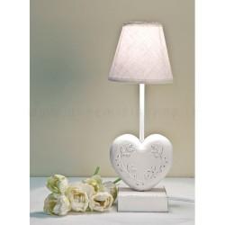 lampada-piccola-comodino-bianca-legno-ferro-stelo-cuore-luxelodge