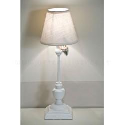 lampada-piccola-comodino-bianca-legno-ferro-stelo-luxelodge