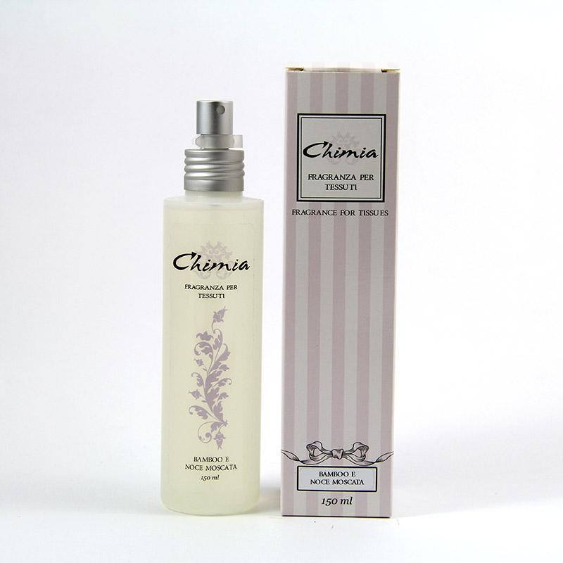 Profumo spray per tessuti bamboo e noce moscata 150ml - Profumo per bagno ...