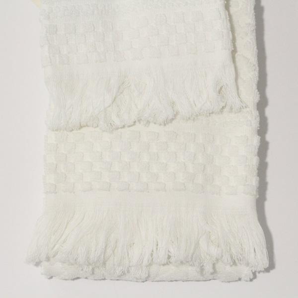 set viso ospite spugna marinette st tropez bianco. Black Bedroom Furniture Sets. Home Design Ideas