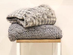 Plaid in lana
