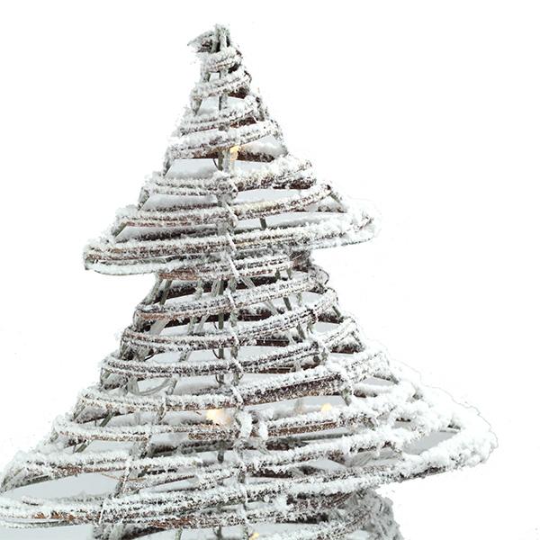 Albero Natale LED neve