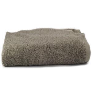 Asciugamano Perla - Telo doccia spugna TORTORA SCURO