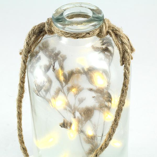 Bottiglia luminosa LED rametto