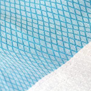 Dettaglio tessitura losanghe telo mare fouta