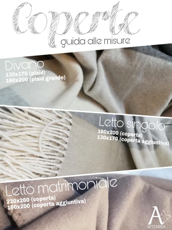 Misure corrette per le coperte
