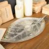 piatto foglia in alluminio 44 cm