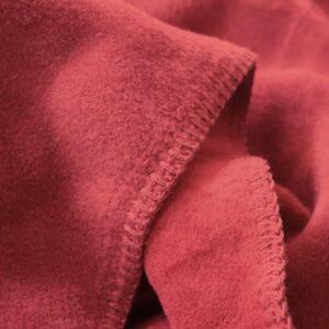Plaid Pile DoubleFace ROSSO/BORDEAUX
