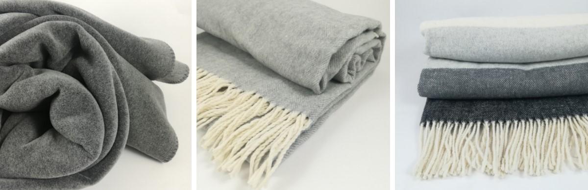 Plaid in pile misto cotone