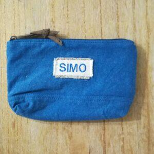 Pochette piccola SAMBURO Blu Denim