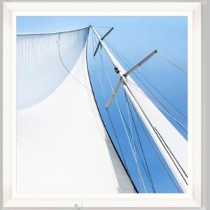 quadro dettaglio barca a vela