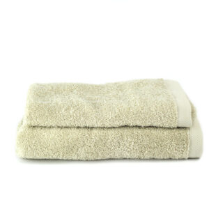 Asciugamano Perla - Set viso/ospite spugna BEIGE