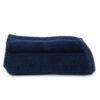 Asciugamano Perla - Set viso/ospite spugna BLU SCURO
