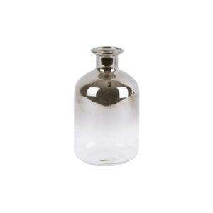 Vasetto mini vetro GRIGIO/ARGENTO