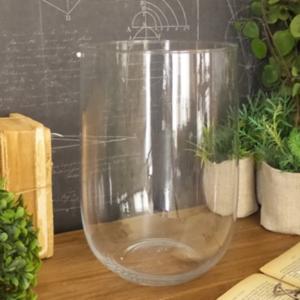 vaso in vetro h.28